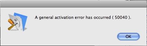 Filemaker Pro Advanced Leopard Error