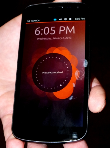 Ubuntu smarphone