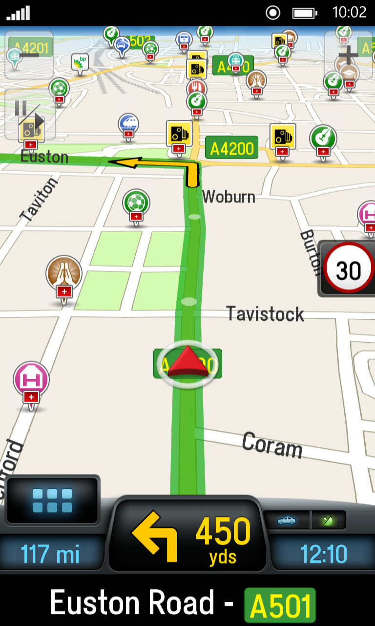 Navigating on CoPilot