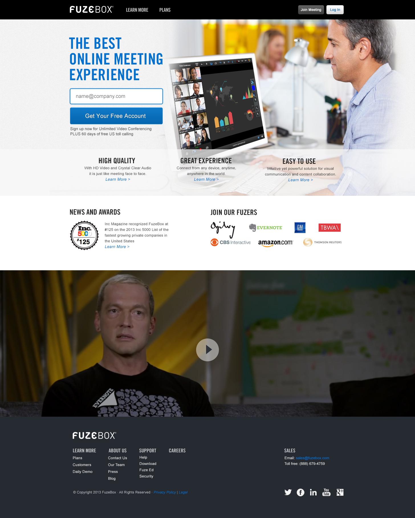 FuzeBox-homepage