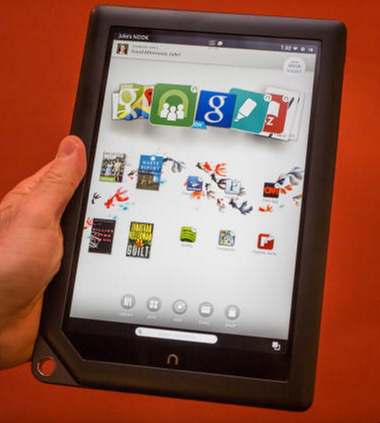 Nook with Google Play