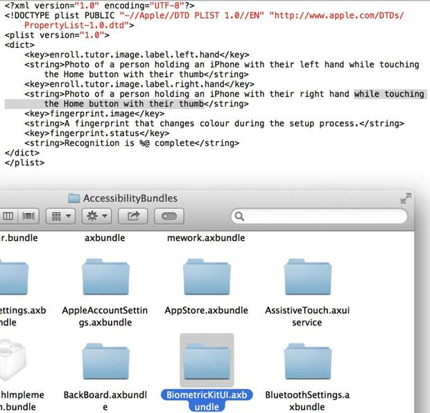 iOS 7 beta 4 contains reference to fingerprint sensor in home button - Jason O'Grady