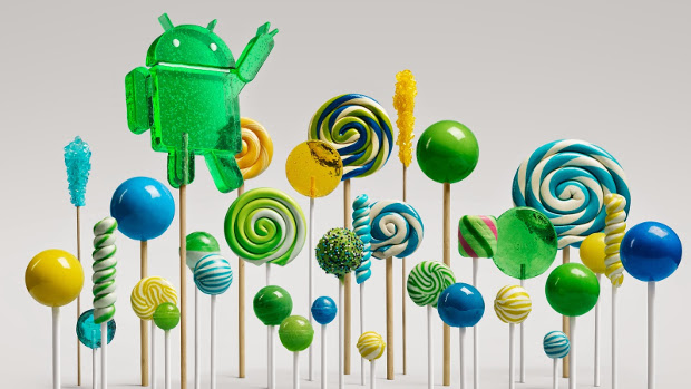 Take a lick of Android Lollipop