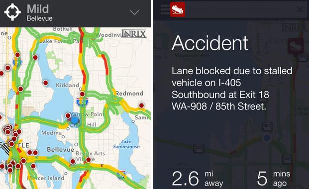 Inrix XD Traffic Maps