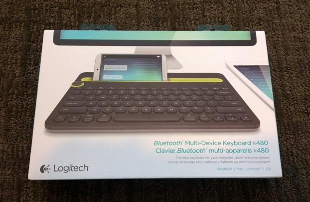 Logitech K480 retail package