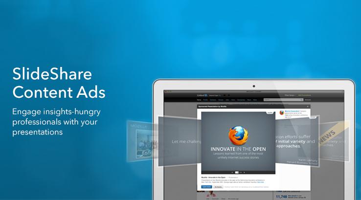 SlideShare content ads