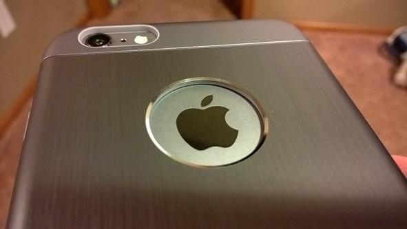 Moshi iGlaze Armour shows off the Apple logo