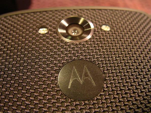 21 megapixel camera and Motorola logo