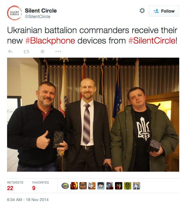 SilentCircle Blackphone Ukraine