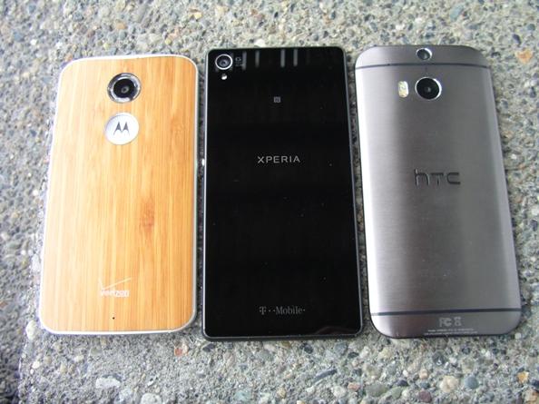 Moto X, Sony Xperia Z3, HTC One M8