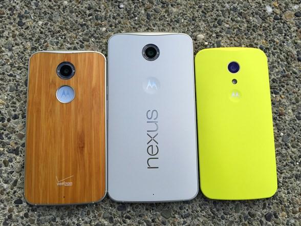 New Moto X, Nexus 6, and new Moto G
