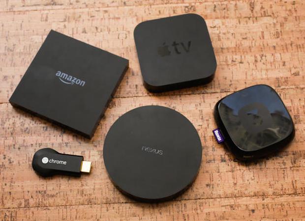 Apple TV, Roku, Chromecast, Fire TV