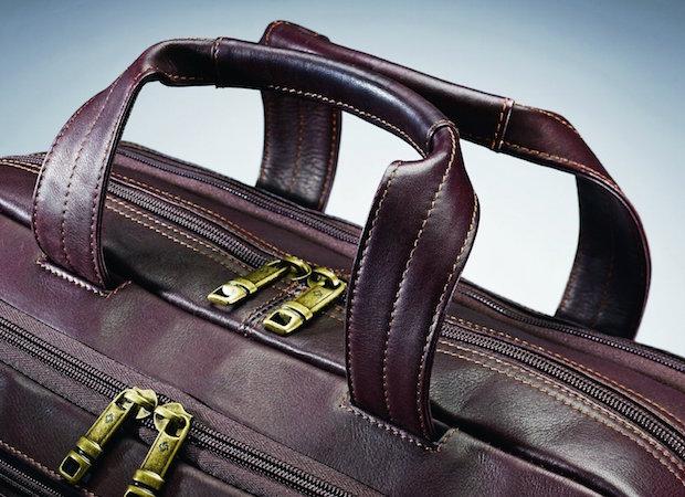 Samsonite Colombian Leather Zip Toploader