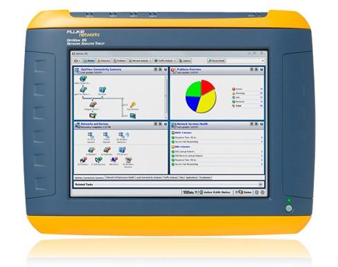 Fluke OptiView XG Network Analysis Tablet