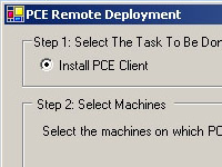 The Remote Deployment Tool makes installing client software a breeze