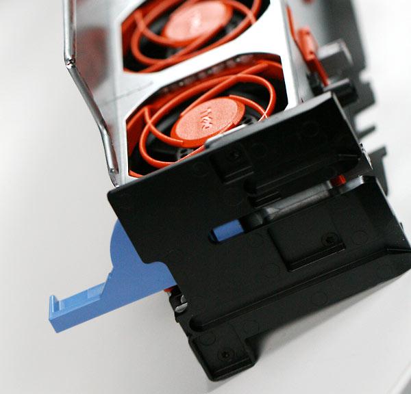 Removed fan bank
