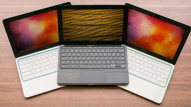 Top four Chromebooks by screen size