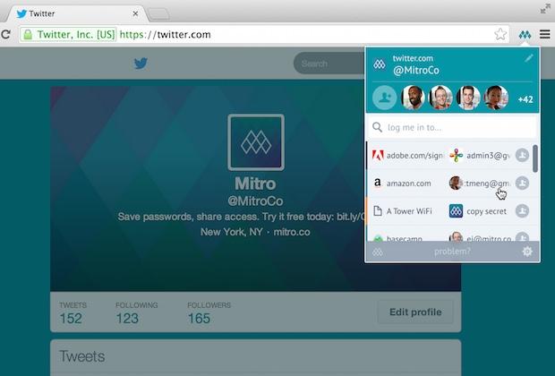 Mitro (password manager)
