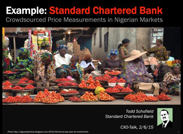 Example: Standard Chartered Bank