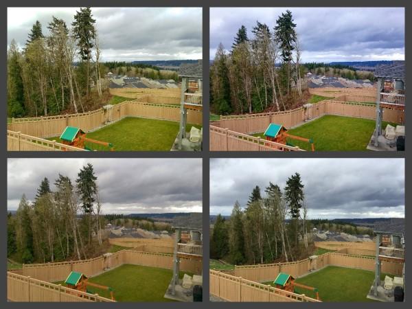 Back deck comparison shot