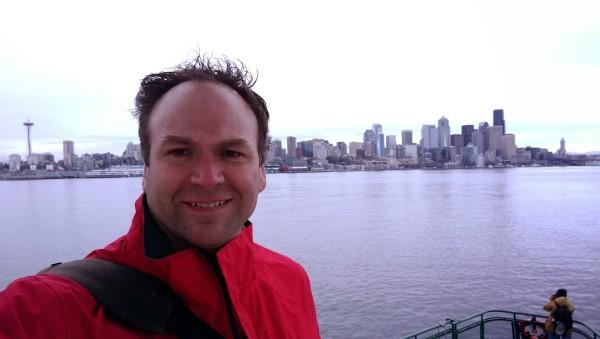 Selfie in Seattle