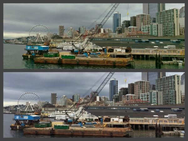 Seattle barge photos