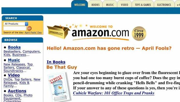 Amazon goes retro