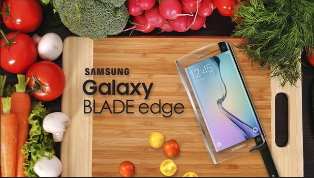 Samsung's Galaxy BLADE Edge