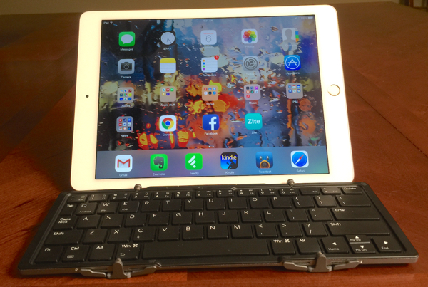 iPad Air 2 with Jorno Folding Keyboard