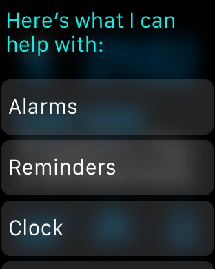 Launch Siri in a couple ways
