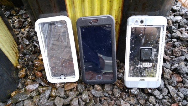 Catalyst, Seidio, and LifeProof iPhone 6 Plus cases