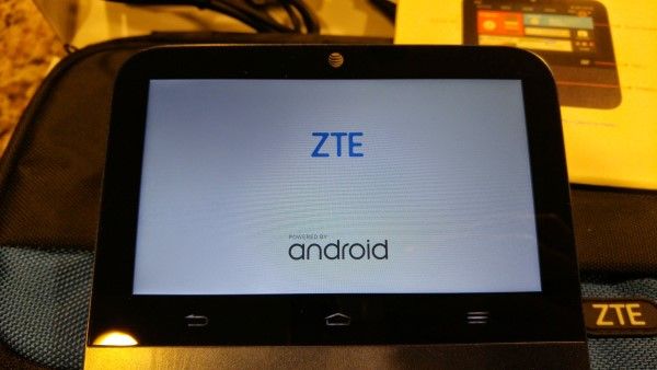Starting up the ZTE Spro 2