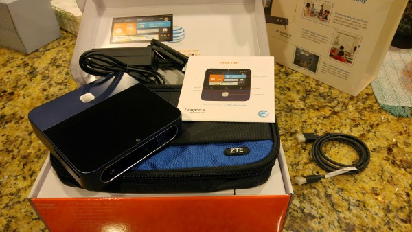 ZTE Spro 2 package contents