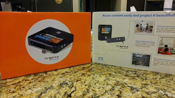 ZTE Spro 2 retail package