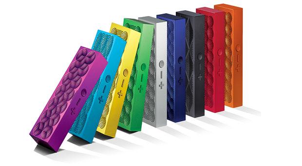 Portable Jawbone speakers