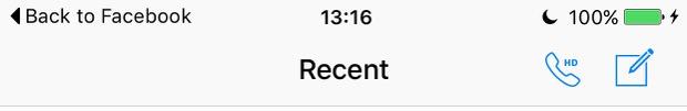 iOS 9 back button
