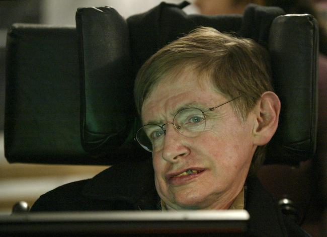 Even Hawking is kinda worried about it