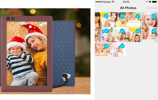 Nixplay Seed digital photo frame
