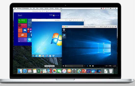 Parallels virtual desktop