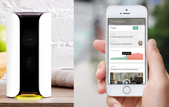 Canary smart home security system