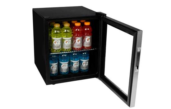 EdgeStar compact beverage fridge