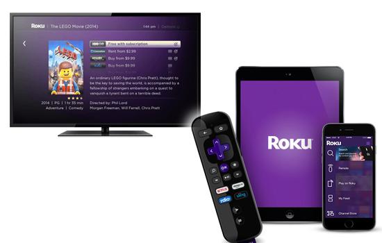 Roku 2 streaming device