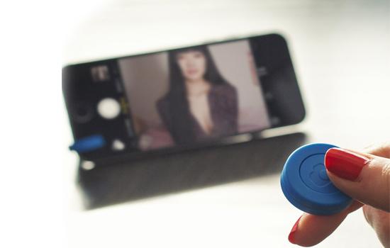 Snappy selfie remote