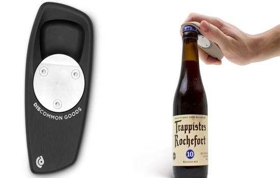 Discommon bottle opener