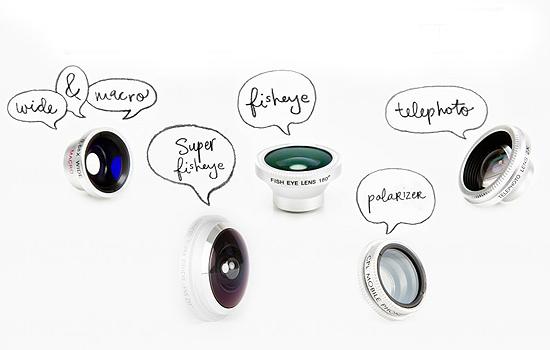 Photojojo mobile lens set