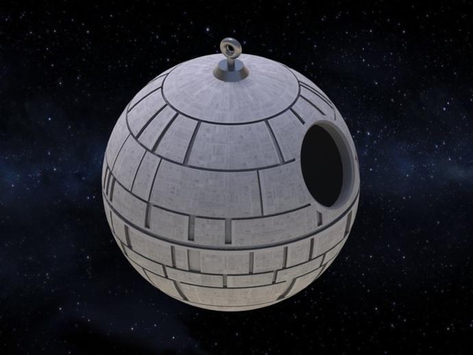 Death Star bird house