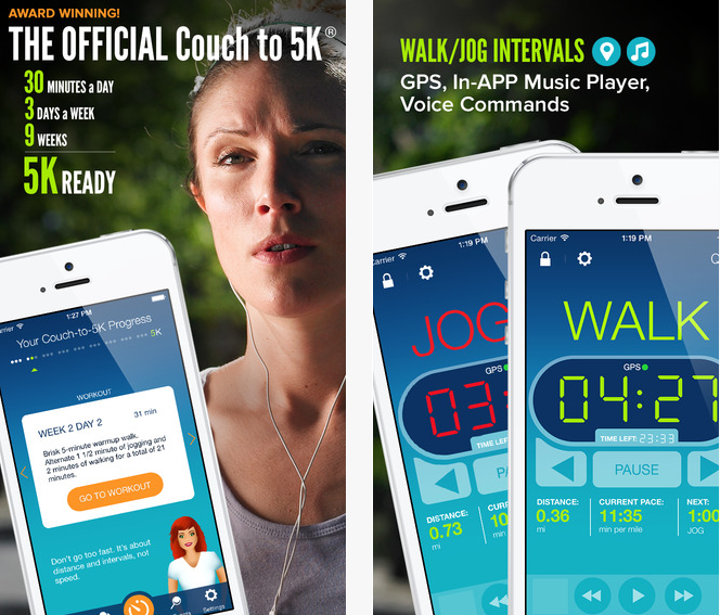 Couch to 5k – Free