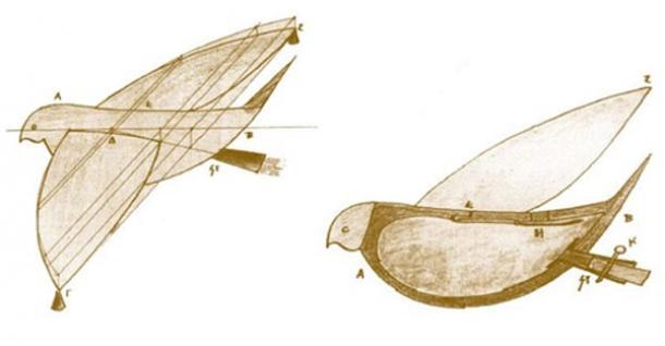 Archytus' Pigeon (350 B.C.)