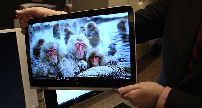 HP Spectre x360 15-inch touch laptop