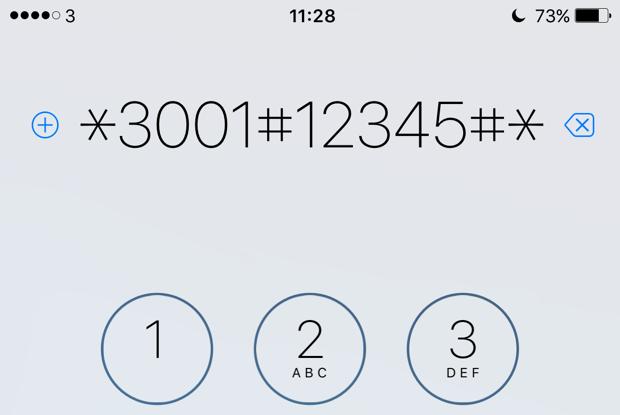 iPhone's hidden Field Test Mode